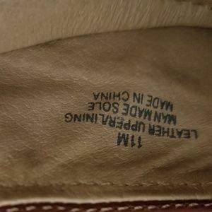 Nurture by Lamaze Shoes - Nurture Brown Size 11 Leather Wedge Shoes